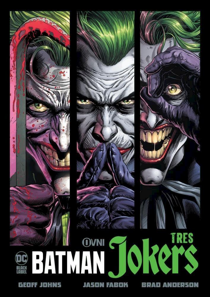 Comic Batman: Tres Jokers
