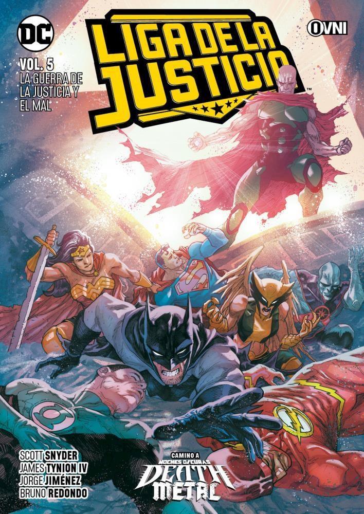 Comic Liga De La Justicia Vol. 5: La Guerra De La Justicia Y El Mal