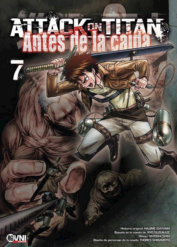 Manga Attack On Titan: Antes De La Caída Vol. 7