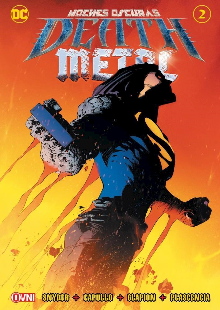 Comic Noches Oscuras: Death Metal #2