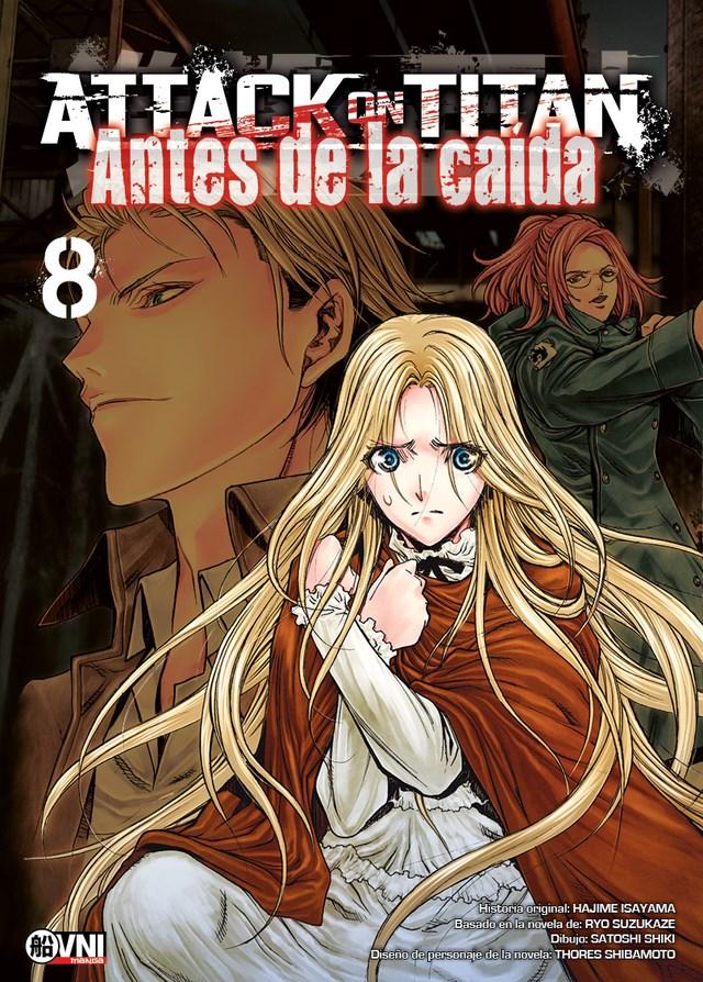 Manga Attack On Titan: Antes De La Caida 08