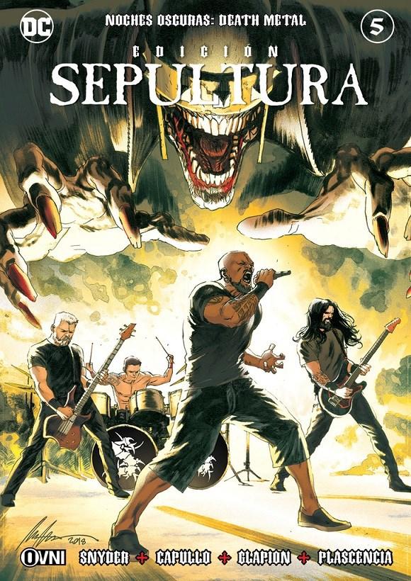 Comic Noches Oscuras: Death Metal #5  Edición Sepultura