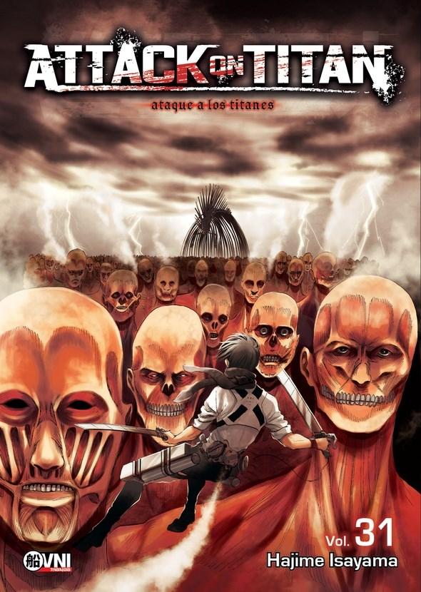 Manga Attack On Titan-#31