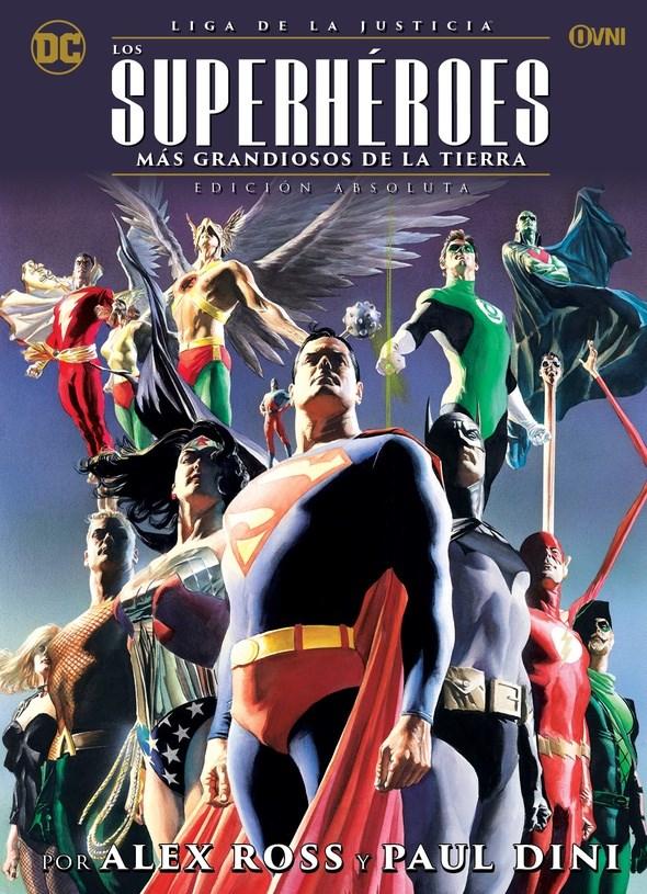 Comic Liga De La Justicia - Los Superhéroes Más Grandiosos De La Tierra