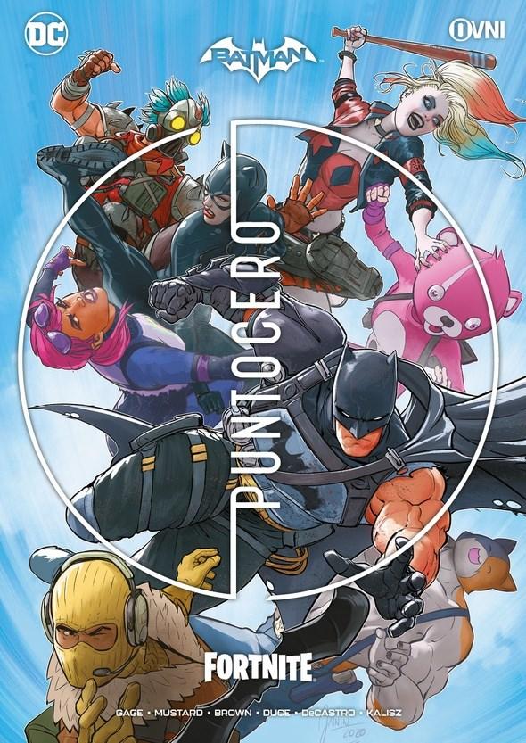 Comic Batman/Fornite: Punto Cero (Incluye Código 7 Objetos Desbloqueables)