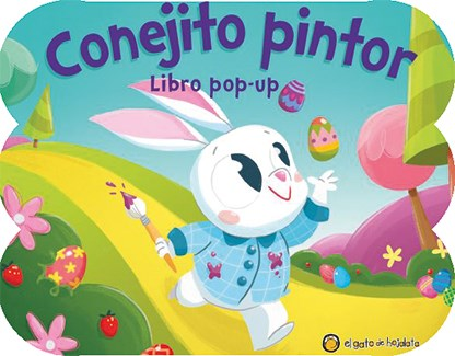Papel Conejito Pintor