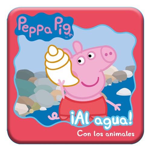 Papel Peppa Pig - Al Agua - Con Los Animales