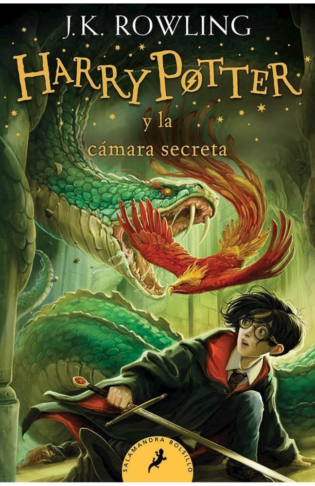 Papel Harry Potter 2 - Y La Cámara Secreta (Bolsillo)