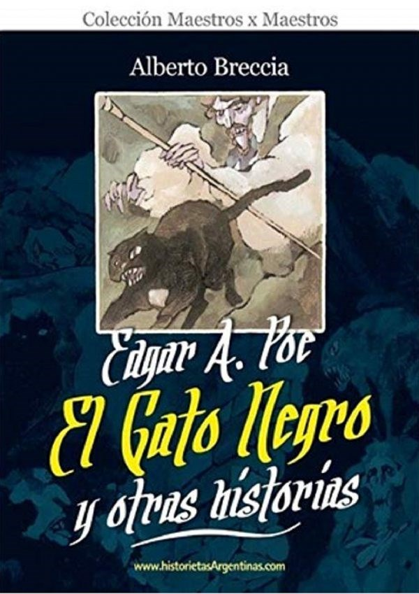 Comic El Gato Negro Y Otras Historias