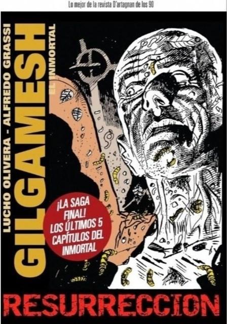 Comic Gilgamesh El Inmortal: Resurrección