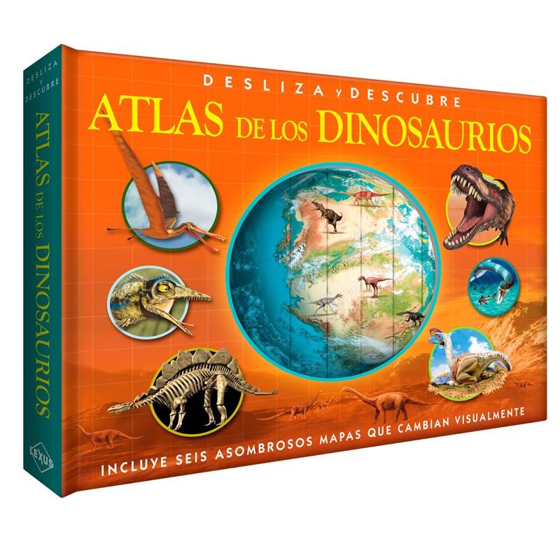 Papel Atlas De Los Dinosaurios Desliza Y Descubre Incluyen Grafico