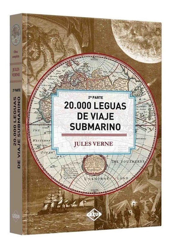 Papel 20000 Leguas De Viaje Submarino 2 P Del Pacifico Al Atlantic