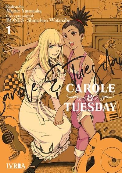 Manga Carole And Tuesday Completo Tres Tomos