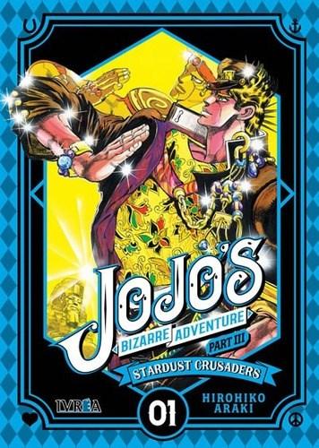 Manga Jojos Bizarre Adventure Part 3: Stardust Crusaders  (Lote Completo)