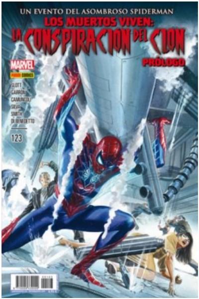 Comic Spider-Man: Los Muertos Viven. La Conspiración Del Clon Edición Española Completa (Siete Tomos)