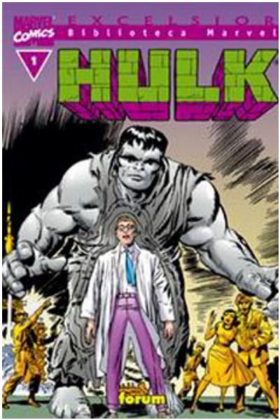 Comic Biblioteca Marvel: Hulk Lote Completo (36 Libros)