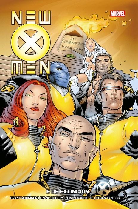 Comic New X-Men De Grant Morrison Completo 7 Tomos