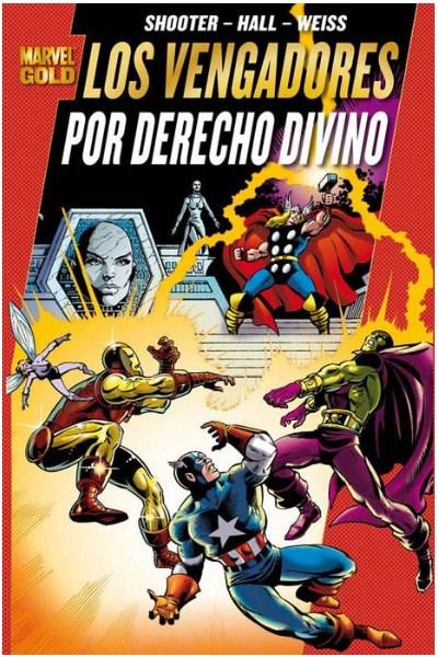 Comic Los Poderosos Vengadores De Roger Stern Marvel Gold Lote Completo (11 Tomos)