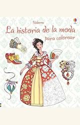Papel LA HISTORIA DE LA MODA PARA COLOREAR