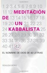 Papel MEDITACIÓN DE UN KABBALISTA