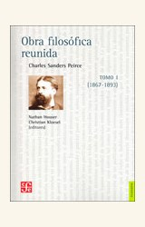 Papel OBRA FILOSOFICA REUNIDA TOMO I CHARLES SANDERS PEIRCE
