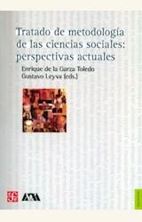 Papel TRATADO DE METODOLOGIA DE LAS CIENCIAS SOCIALES: PERSPECTIVAS ACTUALES