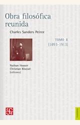 Papel OBRA FILOSÓFICA REUNIDA TOMO II (1893-1913)
