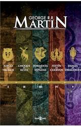 E-book Paquete Digital Canción de Hielo y Fuego (5 libros)
