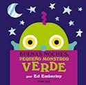 Libro Buenas Noches Pequeño Monstruo Verde