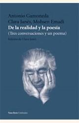 Papel DE LA REALIDAD Y LA POESIA (TRES CONVERSACIONES Y UN POEMA)