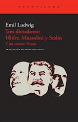 Papel TRES DICTADORES: HITLER, MUSSOLINI Y STALIN