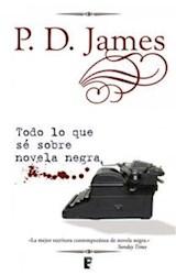 E-book Todo lo que sé sobre novela negra