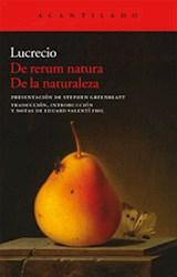 Papel DE RERUM NATURA / DE LA NATURALEZA