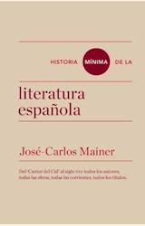 Papel HISTORIA MINIMA DE LA LITERATURA ESPAÑOLA