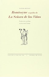 Papel ROMIOSYNE SEGUIDO DE LA SEÑORA DE LAS VIÑAS