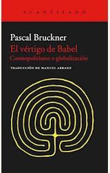 Papel EL VERTIGO DE BABEL: COSMOPOLITISMO Y GLOBALIZACION