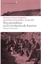E-book Tres periodistas en la revolución de Asturias