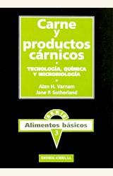 Papel CARNE Y PRODUCTOS CARNICOS TECNOLOGIA QUIMICA Y MICROBIOLOGI