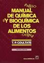 Libro Manual De Quimica Y Bioquimica De Los Alimentos