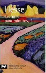Papel LECTURAS PARA MINUTOS. 2. PENSAMIENTOS EXTRAIDOS DE SUS LIBR