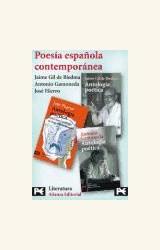 Papel POESIA ESPAÑOLA CONTEMPORANEA ESTUCHE