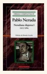 Papel OBRAS COMPLETAS  NERUDA - CINCO VOLUMENES