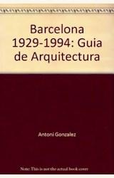 Papel BARCELONA 1929-1994 GUIA ARQUITECTURA