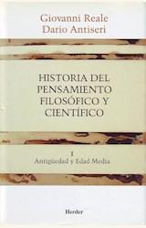 Papel HISTORIA PENSAMIENTO FILOSOFICO Y CIENTIFICO TOMO I