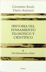 Papel HISTORIA DEL PENSAMIENTO FILOSOFICO Y CIENTIFICO II