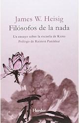 Papel FILOSOFOS DE LA NADA