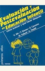 Papel EVALUACION Y POSTEVALUACION EDUCACION INFANTIL.COMO EVALUAR