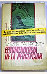 Papel FENOMENOLOGIA DE LA PERCEPCION