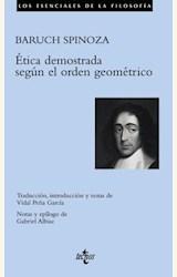 Papel ETICA DEMOSTRADA SEGUN EL ORDEN GEOMETRICO