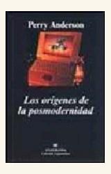 Papel ORIGENES DE LA POSMODERNIDAD, LOS